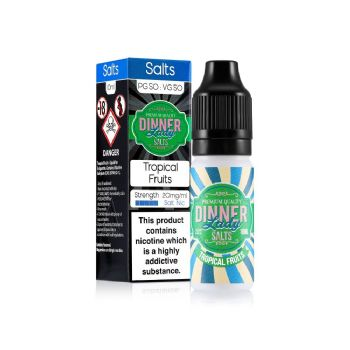 Dinner Lady Tropical Fruits Nic Salt 10ml